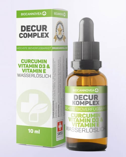 Biocannovea – Curcumin, Vitamin D3 & Vitamin E